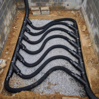 Ceres Residential ground to air heat transfer system