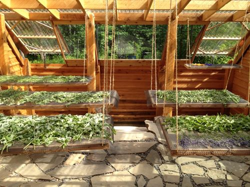Earth Sheltered Greenhouses