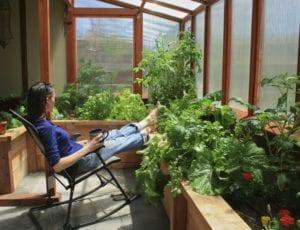 year round solar greenhouse