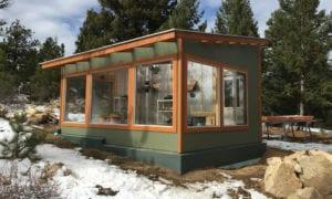 Passive Solar Greenhouse Design