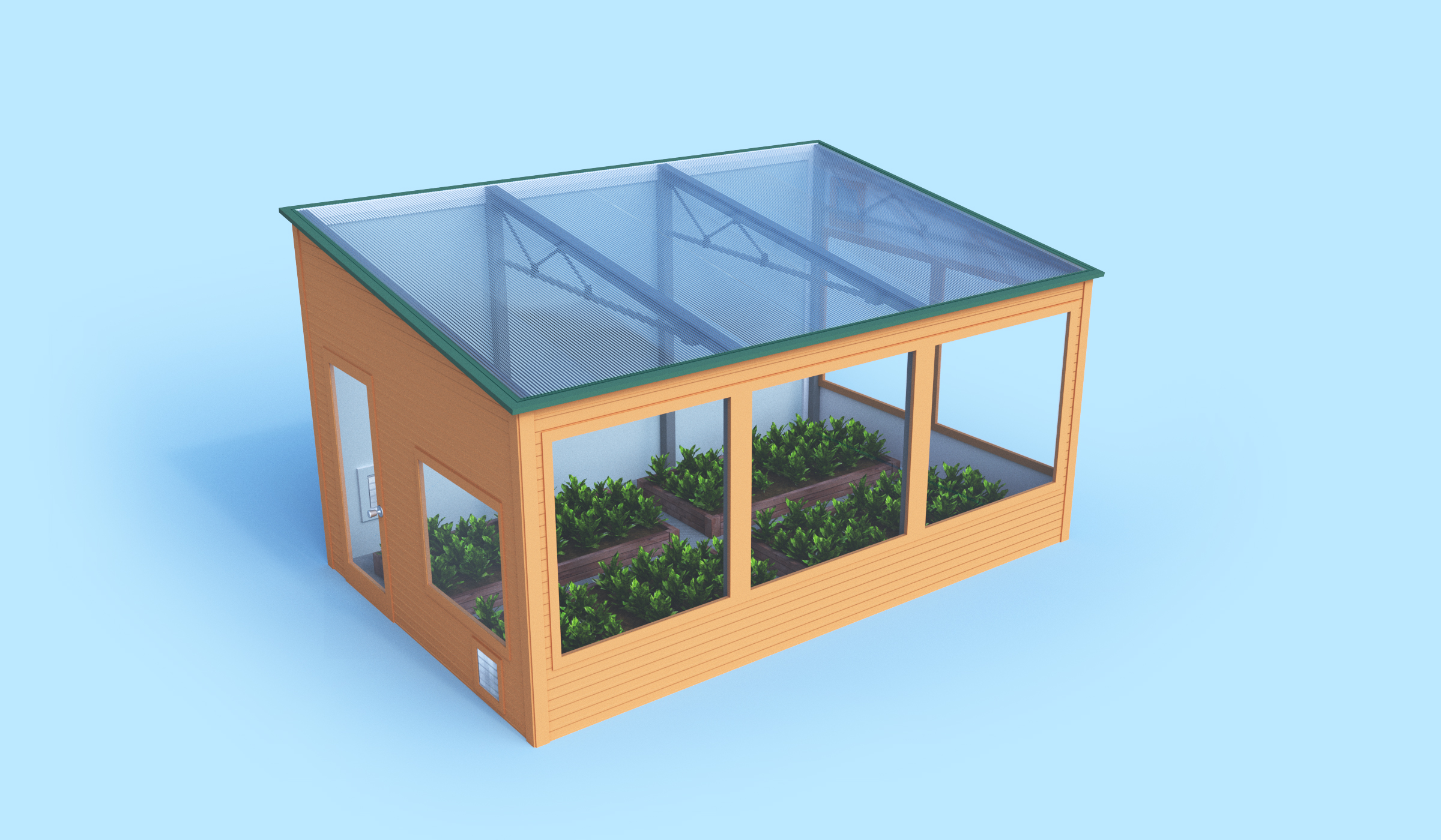 EnergyEfficient Commercial Greenhouse Kits Ceres Greenhouse