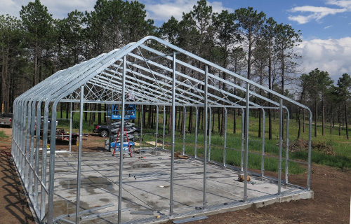 Commercial Greenhouse Kit Highyield Steel Frame Ceres