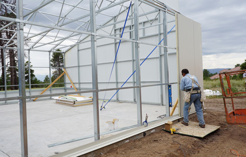 energy efficient commercial greenhouse