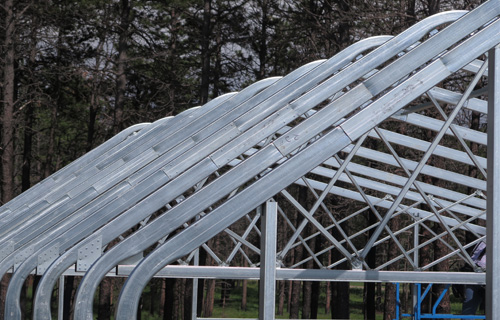 Energy efficient greenhouse commercial