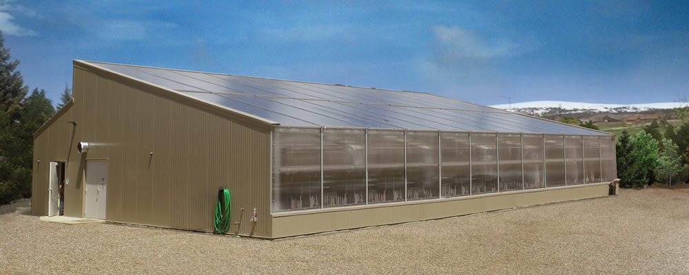 Solar Greenhouse Kits Ceres Greenhouse