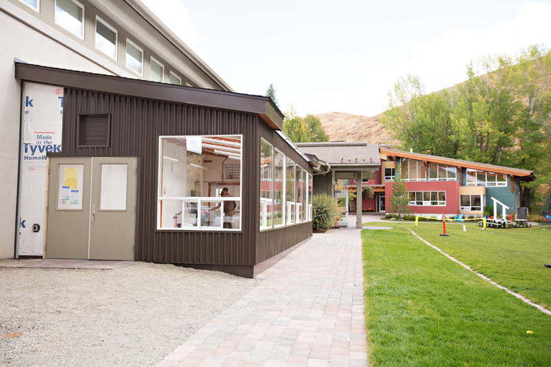 insulated school greenhouse