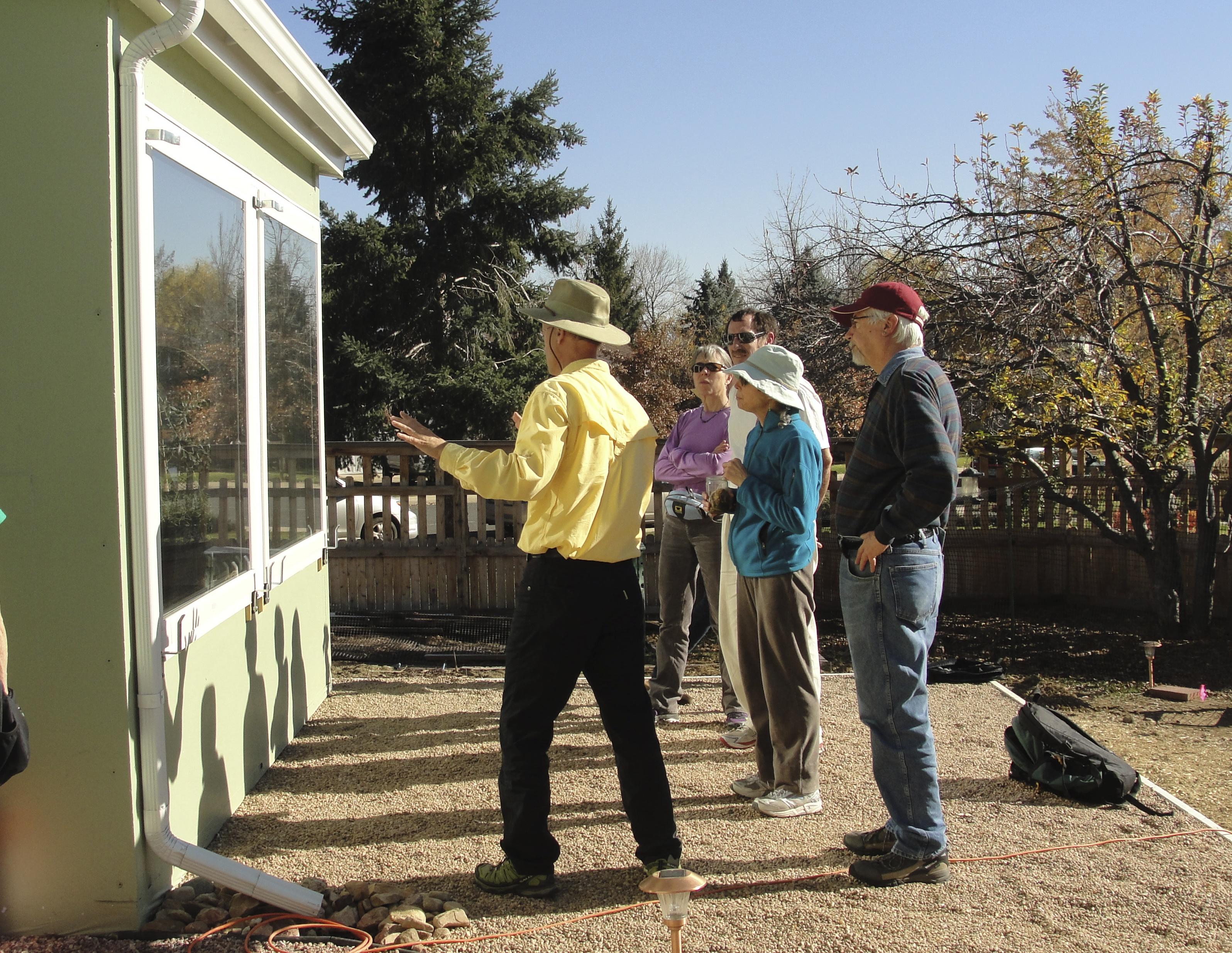 solar greenhouse design workshop