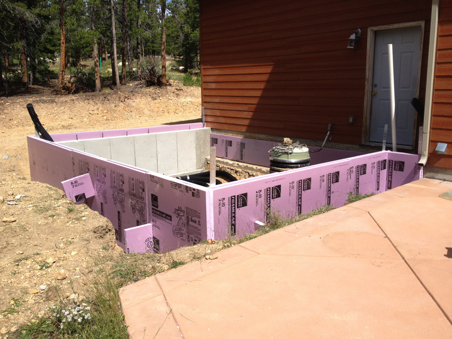 insulated foundation greenhouse
