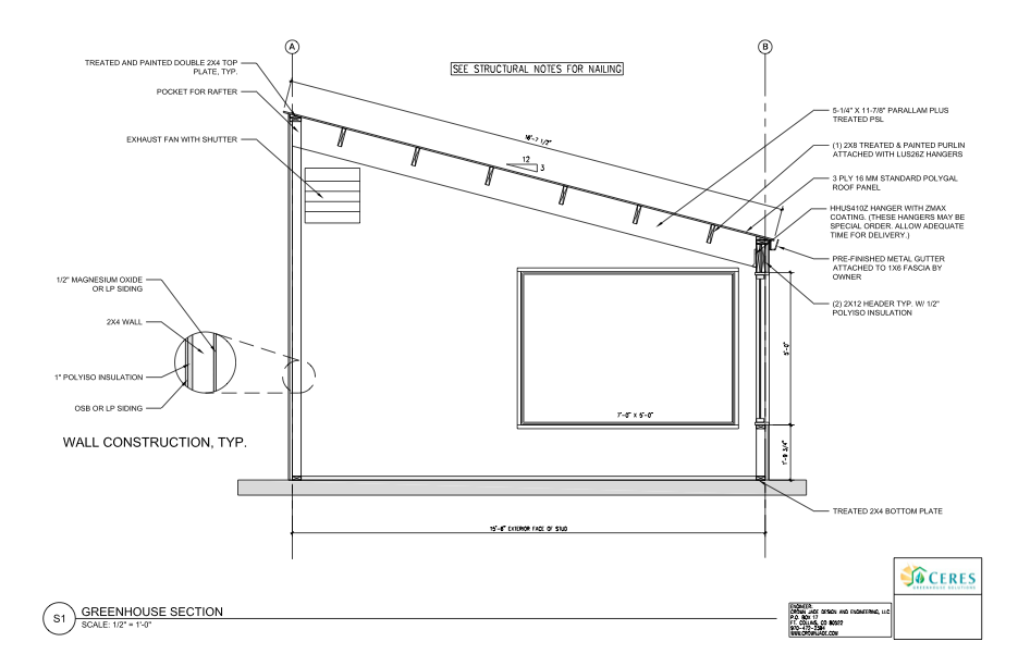 DIY Greenhouse Plans – Ceres Greenhouse