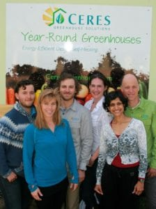 Ceres Greenhouse Consulting team