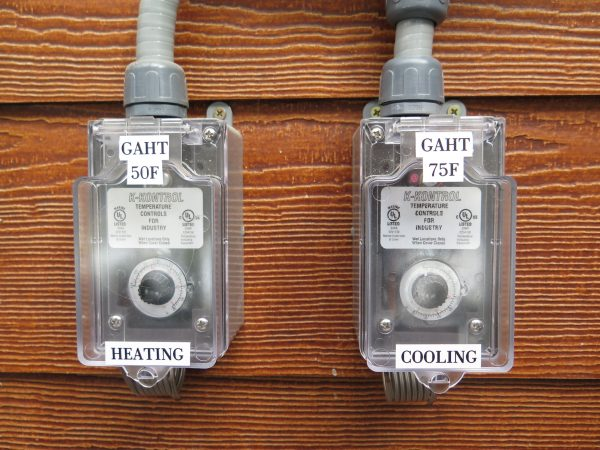 Setting Controls in a GAHT System or Climate Battery