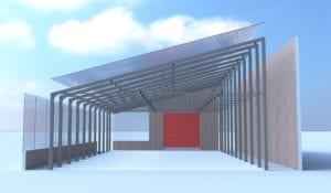 Steel Greenhouse kits