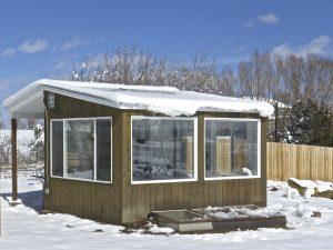 Energy-efficient greenhouse, chicken coop