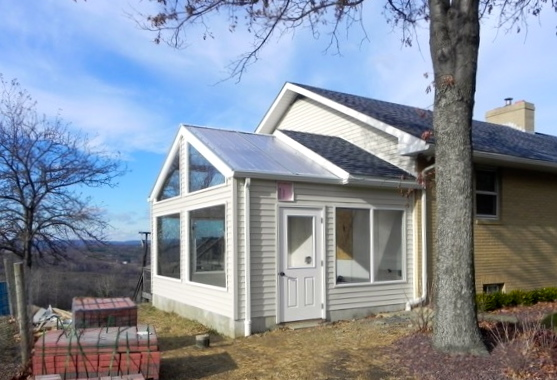 attached solar greenhouse