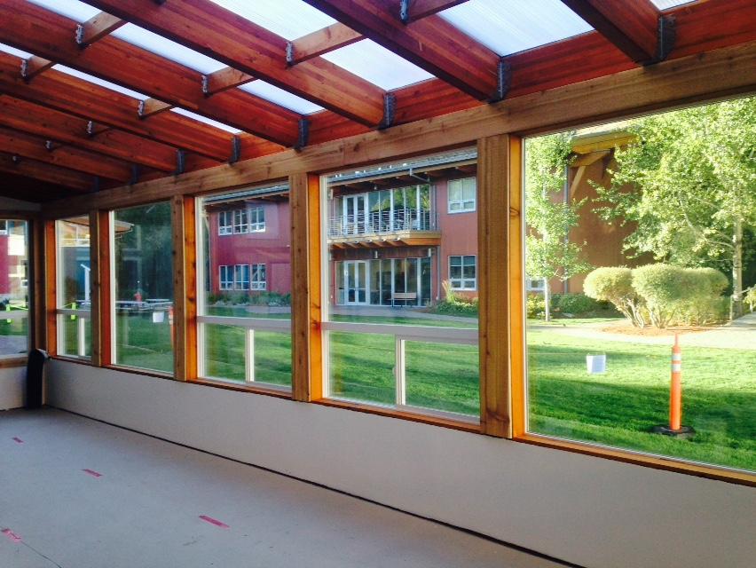 school greenhouse interior