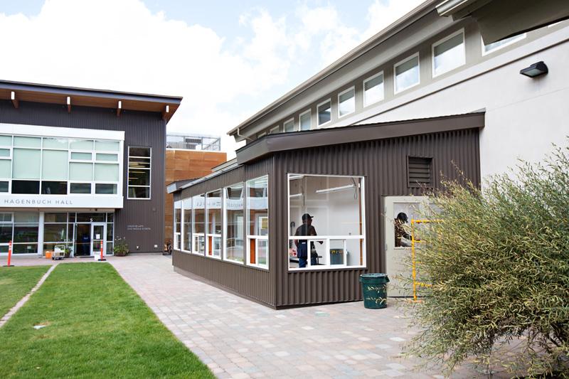 solar greenhouse school