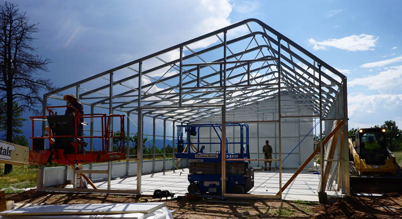 Installing commercial greenhouse kits and custom for Greenhouse designs for residential use