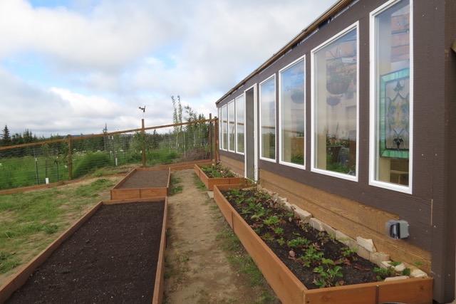 Year Round Greenhouse in Alaska