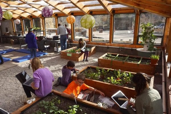Year-Round School Greenhouse