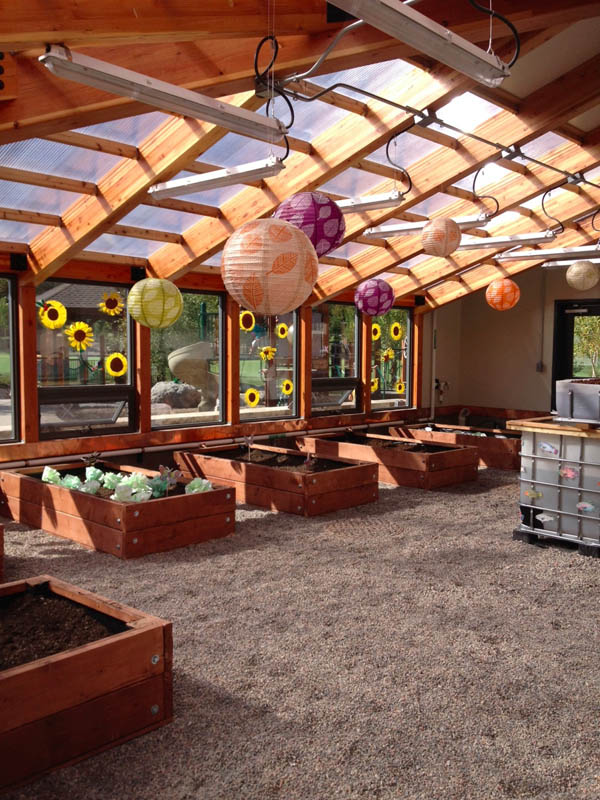 Year Round School Greenhouse Ceres Greenhouse