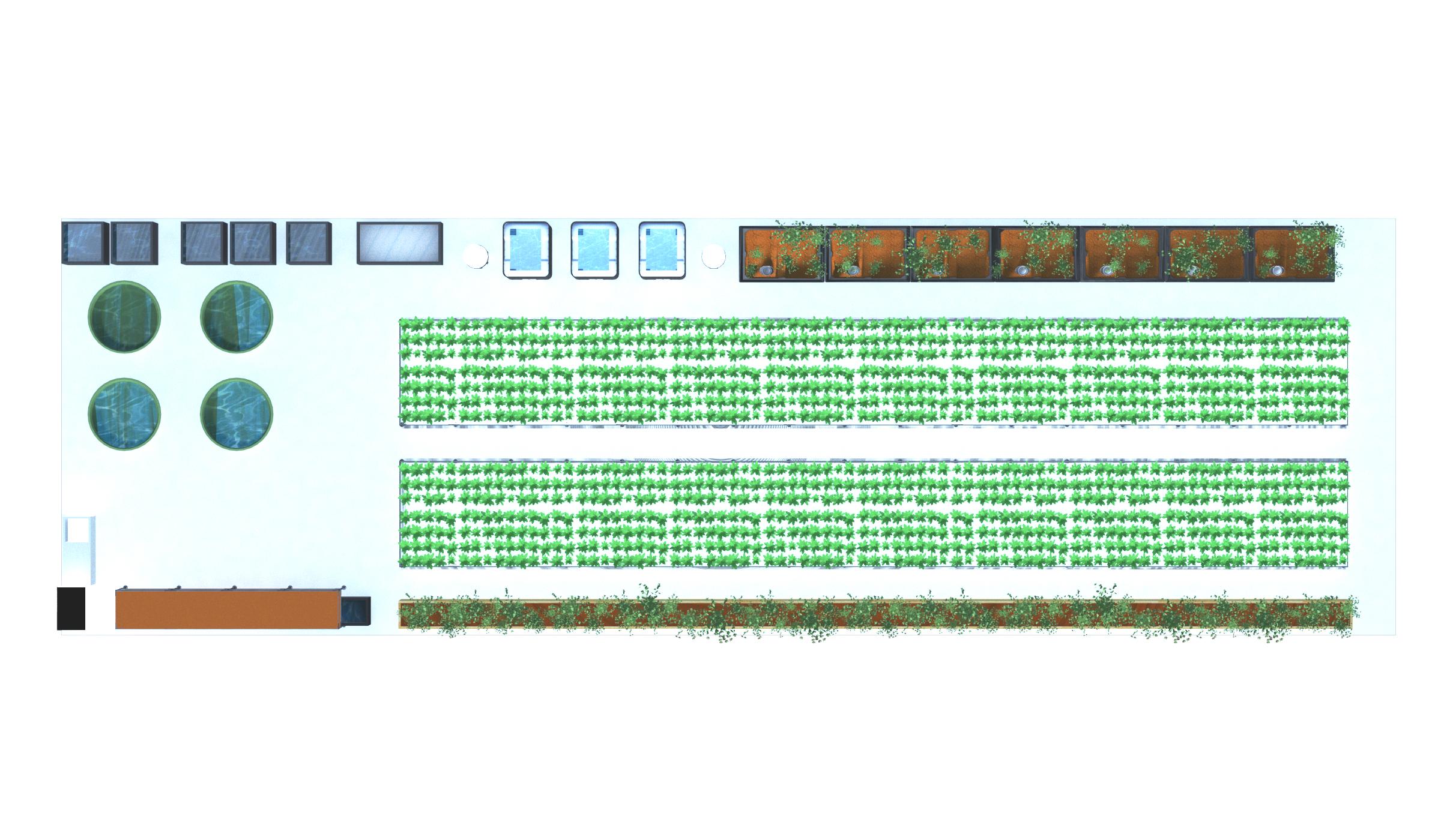 Aquaponics Greenhouse Floor Plan Ceres Greenhouse