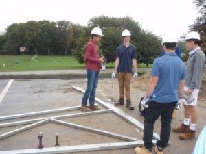 Building greenhouse kit