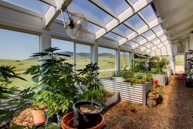Attached Solar Greenhouse Addition Ceres Greenhouse