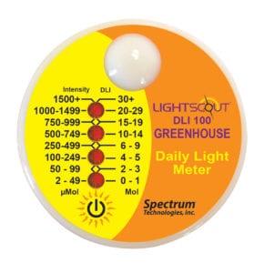 Greenhouse Light Meter