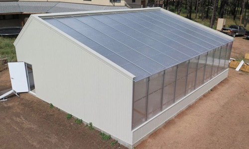 energy efficient cannabis greenhouse