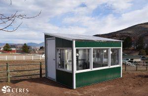 Backyard Kit steel greenhouse