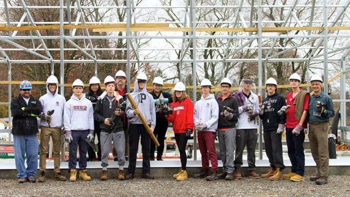 Pomfret high school greenhouse curriculum- building constructionPomfret high school greenhouse curriculum- building construction