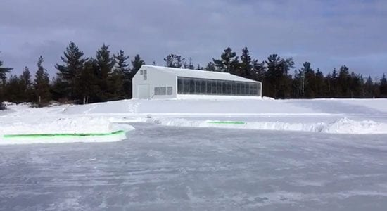 exterior cold climate greenhouse