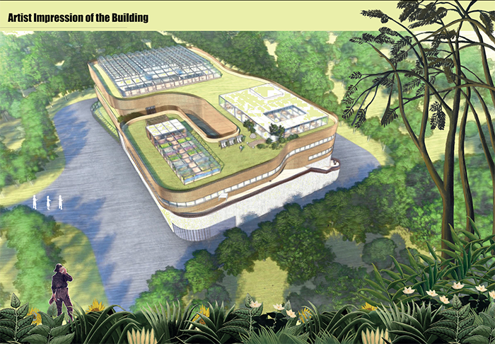 Artist Impression of the Building