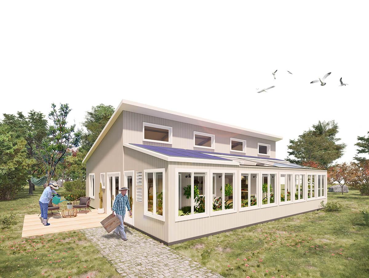 The Vesta™ Kit House