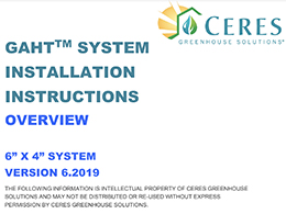 GAHT system installation instructions
